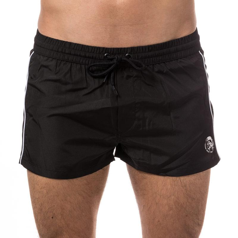 Diesel Mens Bmbx Sandy E Swim Shorts  Black
