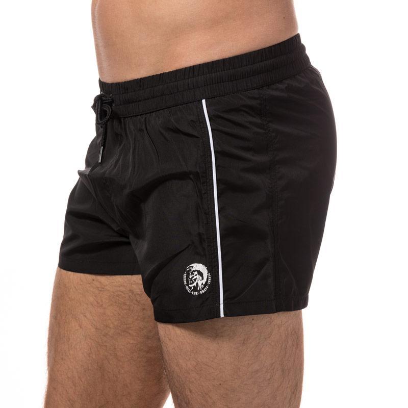 Diesel Mens Bmbx Sandy E Swim Shorts Black