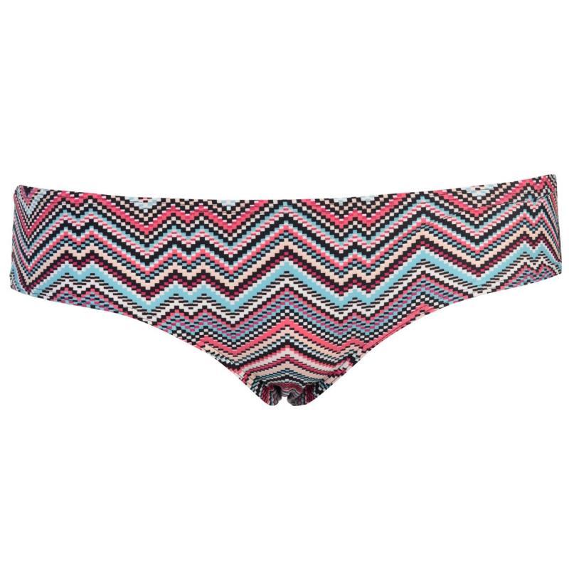 Plavky Roxy Anitea Solid Bikini Bottoms Ladies Melinda Stripe
