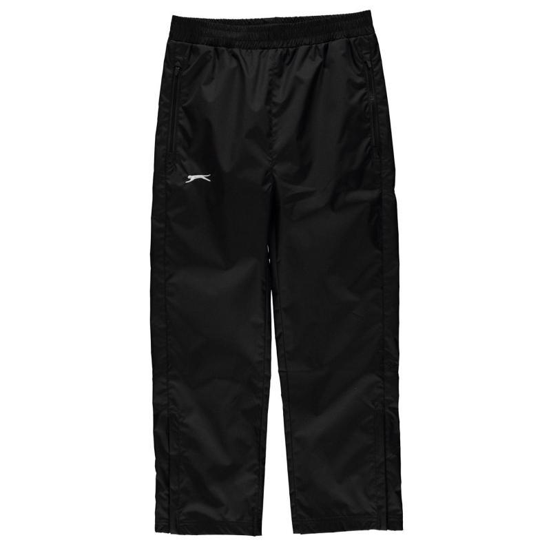 Kalhoty Slazenger Waterproof Pants Junior Boys Black