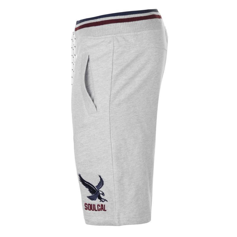 SoulCal Eagle Shorts Mens Grey Marl