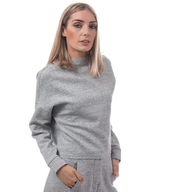 Mikina Native Youth Womens Nova Sweatshirt Grey