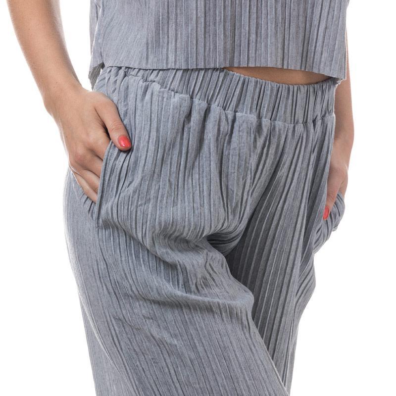 Kalhoty Native Youth Womens Pinaccles Culottes Grey