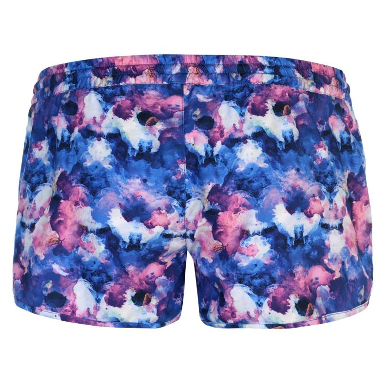 Gul AOP Board Shorts Ladies Navy/Pink