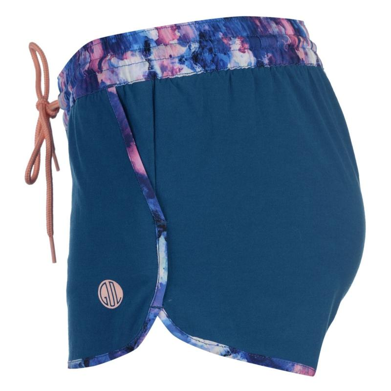 Gul Placement Board Shorts Ladies Navy/Print