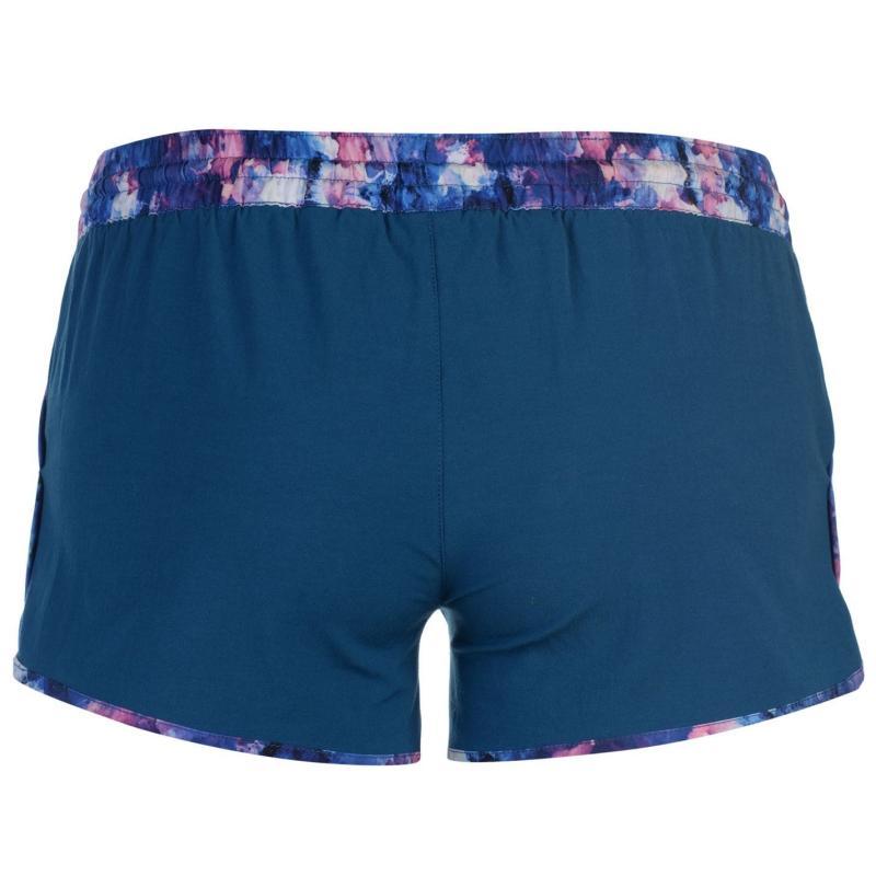 Gul Placement Board Shorts Ladies Black/Print