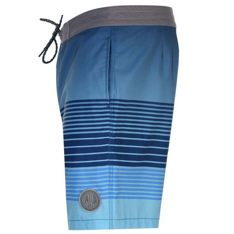 Gul Print Board Mens Shorts Blue/Blue