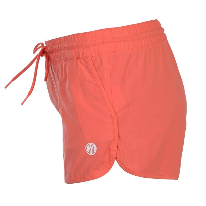 Gul Solid Board Shorts Ladies Coral