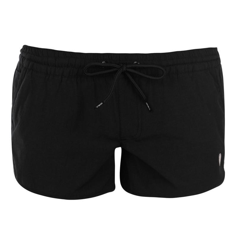 Gul Solid Board Shorts Ladies Black