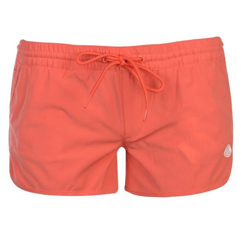 Gul Solid Board Shorts Ladies Teal