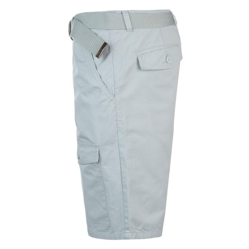 Kalhoty Pierre Cardin Pocket Chino Shorts Mens Khaki