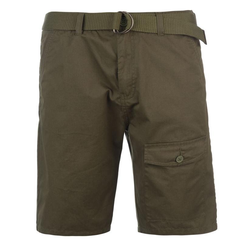 Kalhoty Pierre Cardin Pocket Chino Shorts Mens Rust