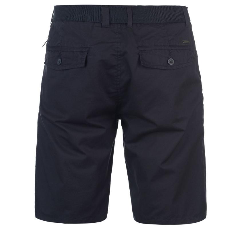 Kalhoty Pierre Cardin Pocket Chino Shorts Mens Navy