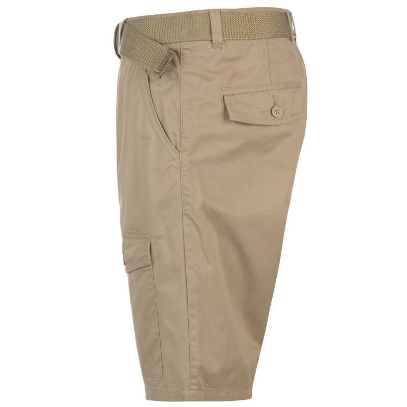Kalhoty Pierre Cardin Pocket Chino Shorts Mens Tan