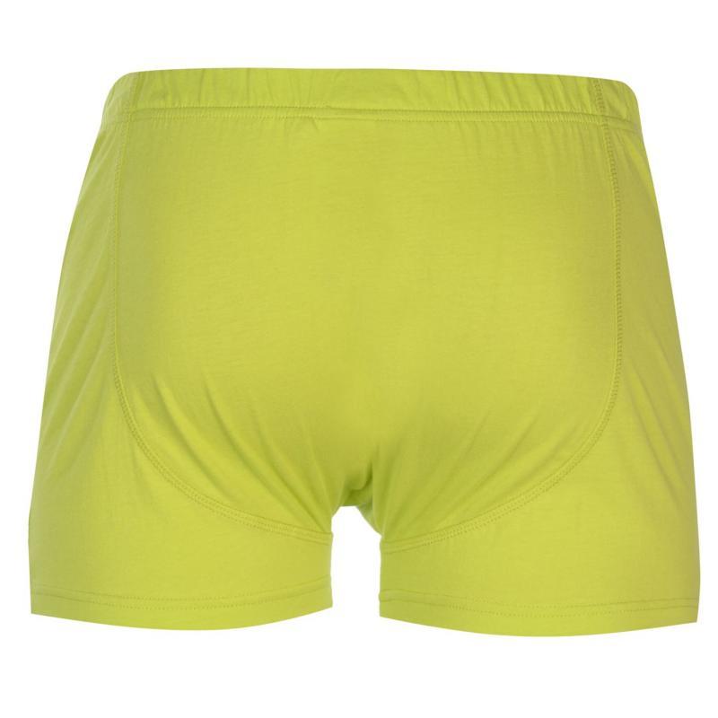Spodní prádlo Slazenger 2 Pack Boxers Mens Chilli/Green