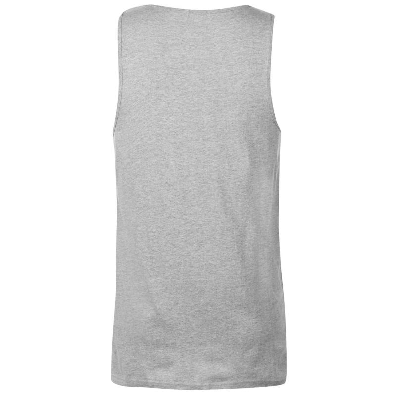 Tílko DC Campus Tank Top Mens Grey Heather