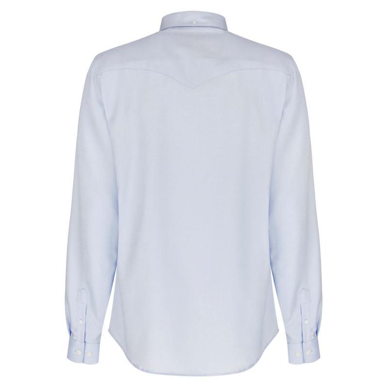 Luke Sport Cuffys Shirt Blue