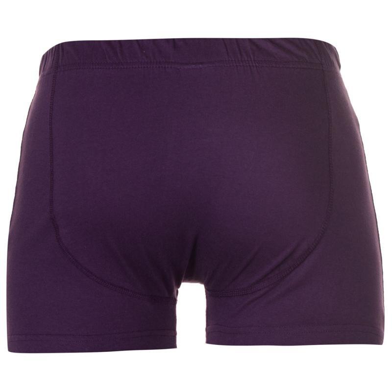 Spodní prádlo Slazenger 2 Pack Boxers Mens Purple/Orange