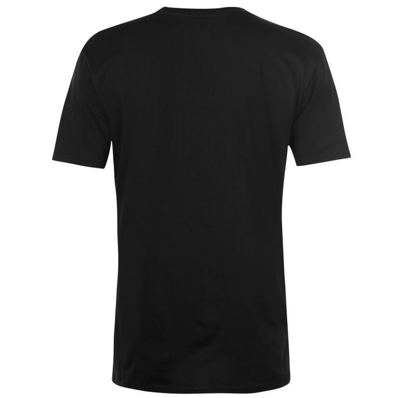 Tričko DC Dorrington T Shirt Mens Black