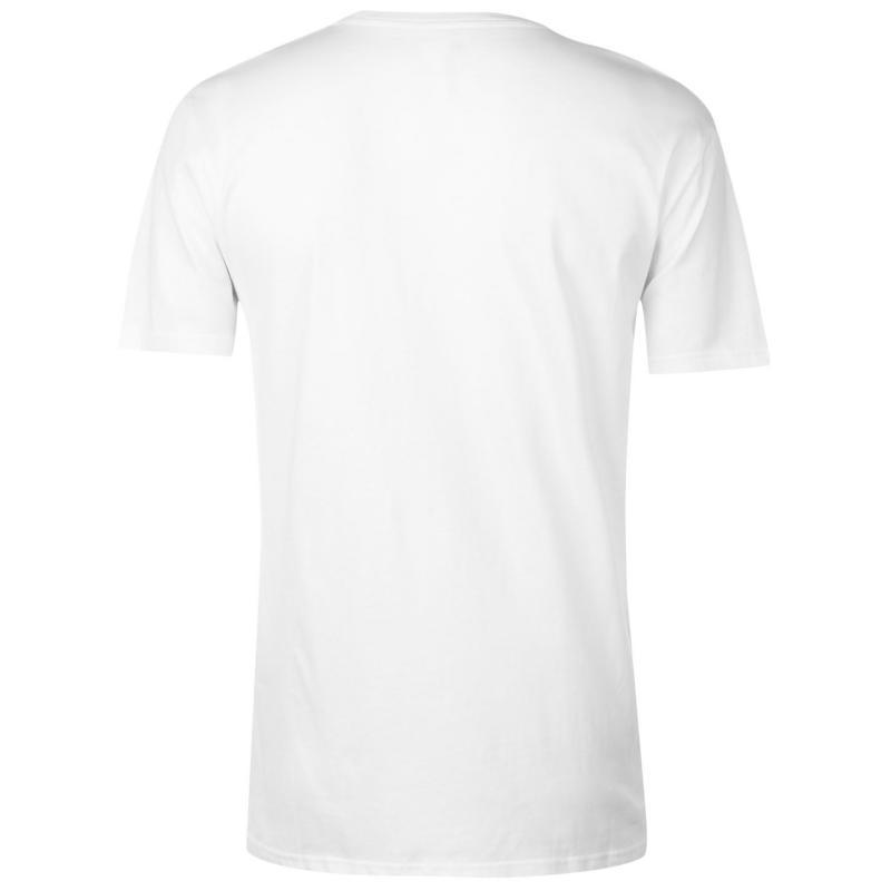 Tričko DC Dorrington T Shirt Mens White