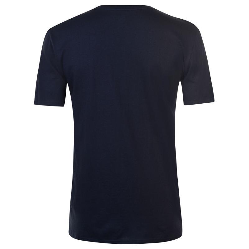 Tričko DC Nautica T Shirt Mens White Velikost - M