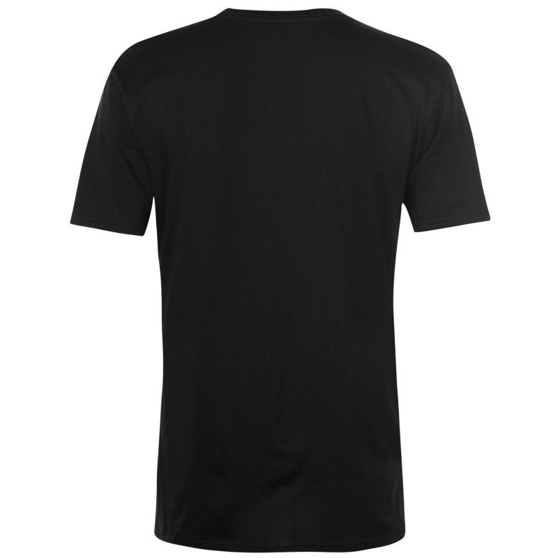 Tričko DC Racing Club T Shirt Mens Black