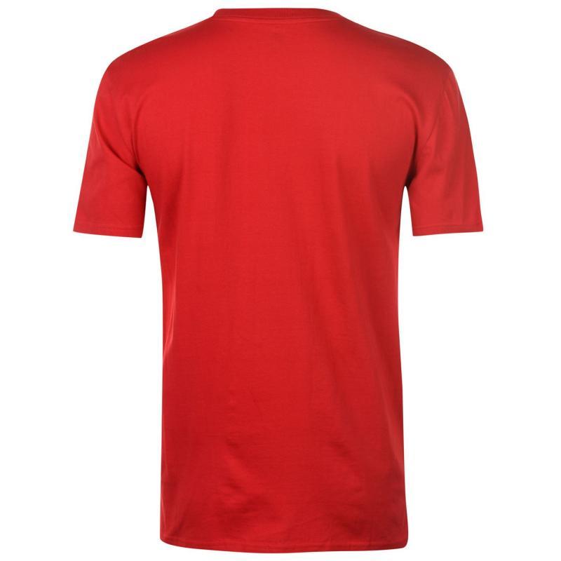 Tričko DC Racing Club T Shirt Mens Tango Red