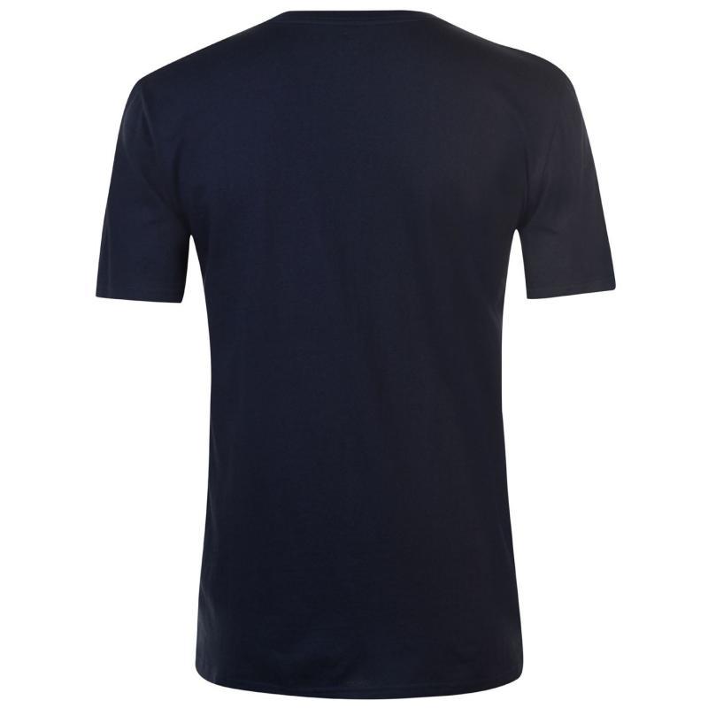 Tričko DC Racing Club T Shirt Mens Dark Indigo