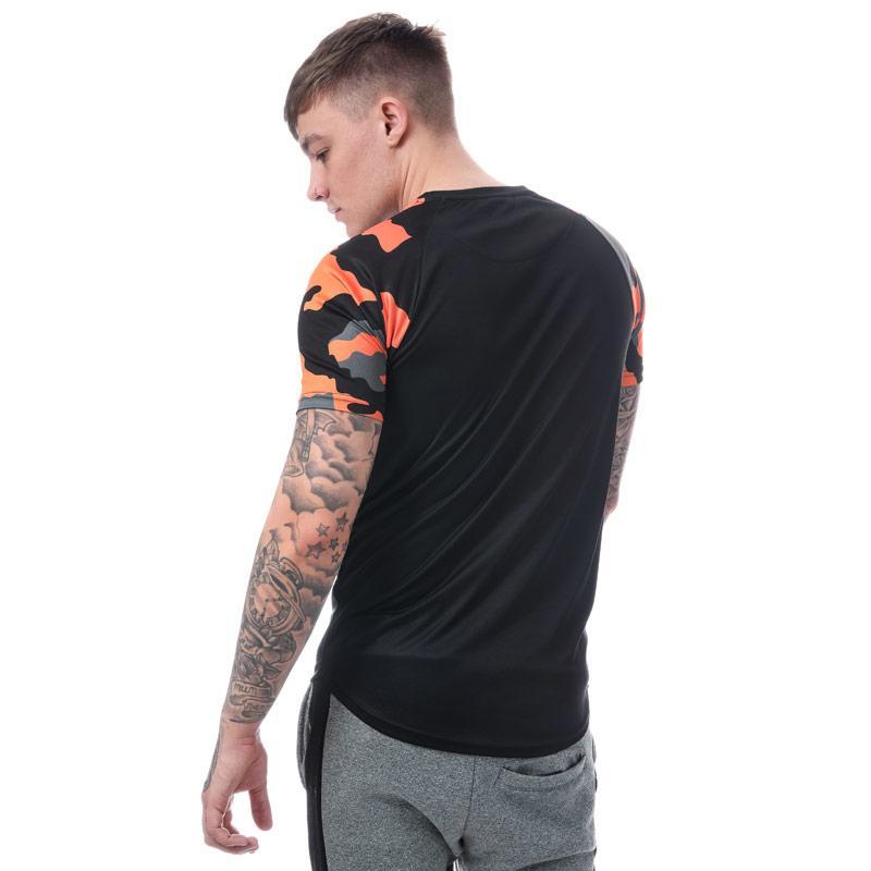 Tričko Beck And Hersey Mens Alastor T-Shirt Black
