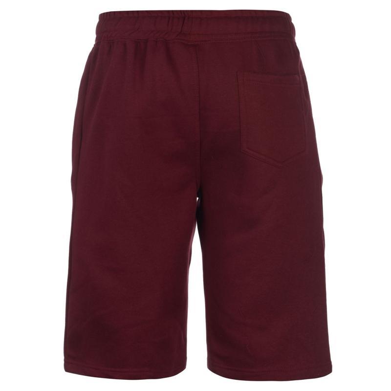Pierre Cardin Zipped Shorts Mens Burgundy