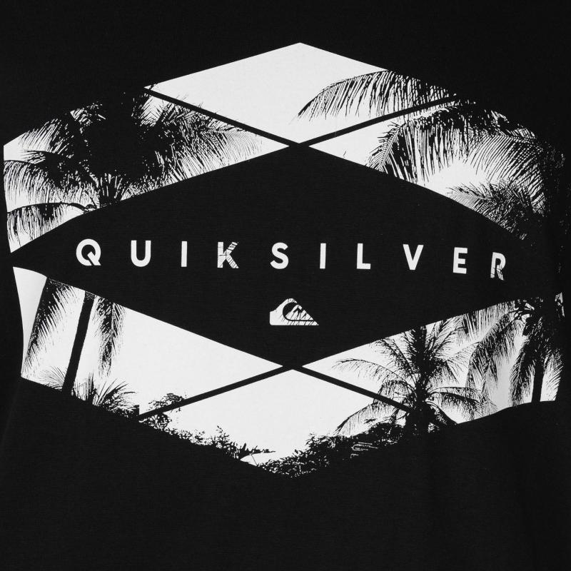 Tričko Quiksilver Memory Pleasure T Shirt Mens Black