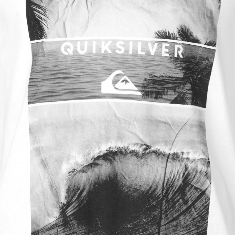 Tričko Quiksilver Skyline T Shirt Mens White