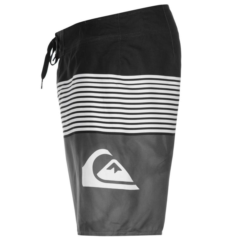 Quiksilver Smocked Wave Board Shorts Mens Black