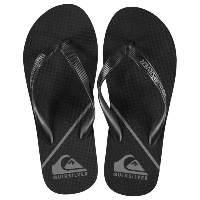 Quiksilver Wave Mens Flip Flops Black