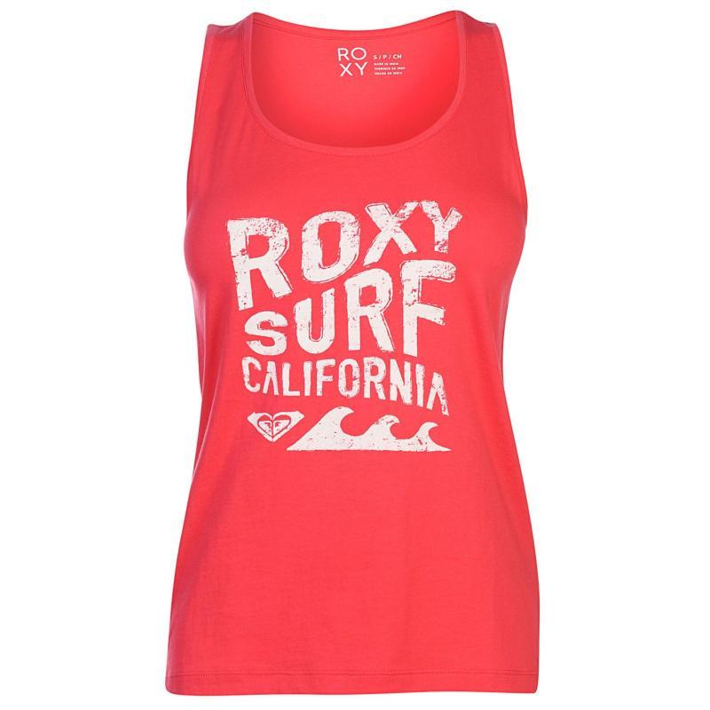 Roxy California Tank Top Ladies Rouge Red