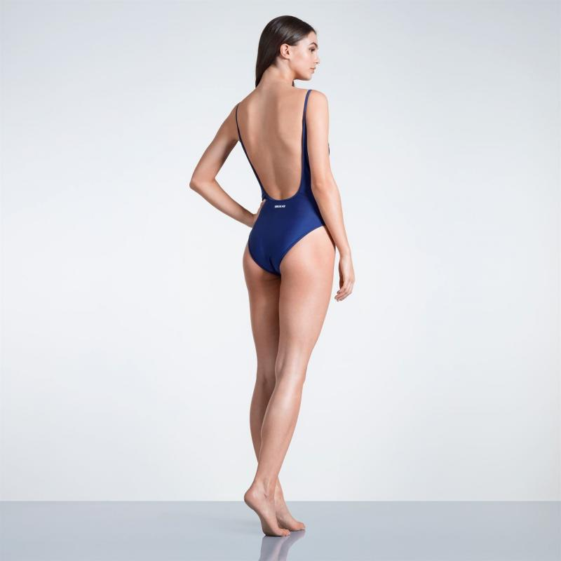 Plavky SoulCal Reversible Swimsuit Ladies Navy
