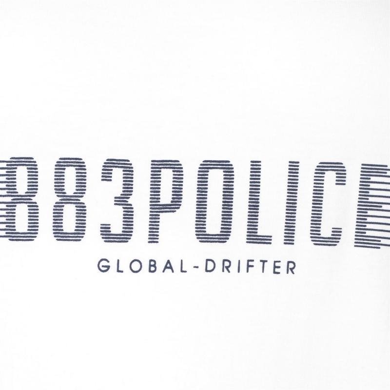 Tílko 883 Police Saint Vest White