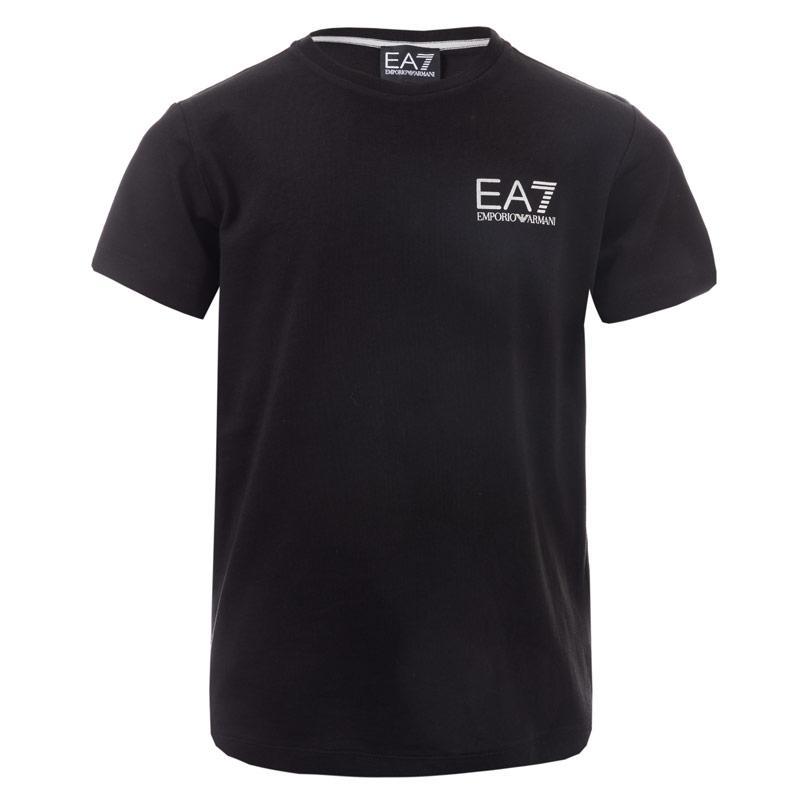Tričko Emporio Armani EA7 Junior Boys Train Core ID T-Shirt Black