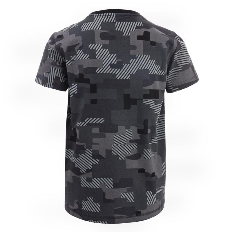 Tričko Emporio Armani EA7 Junior Boys Train Graphic Camo T-Shirt Black
