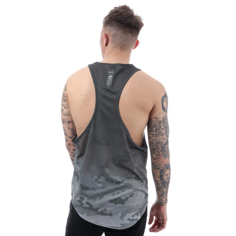 Tílko Crosshatch Black Label Mens Coniston Sub Vest Black