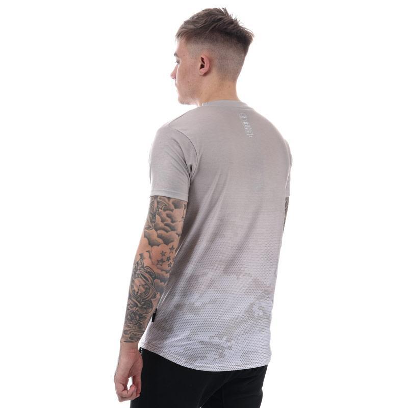 Tričko Crosshatch Black Label Mens Danehurst Sub T-Shirt Black