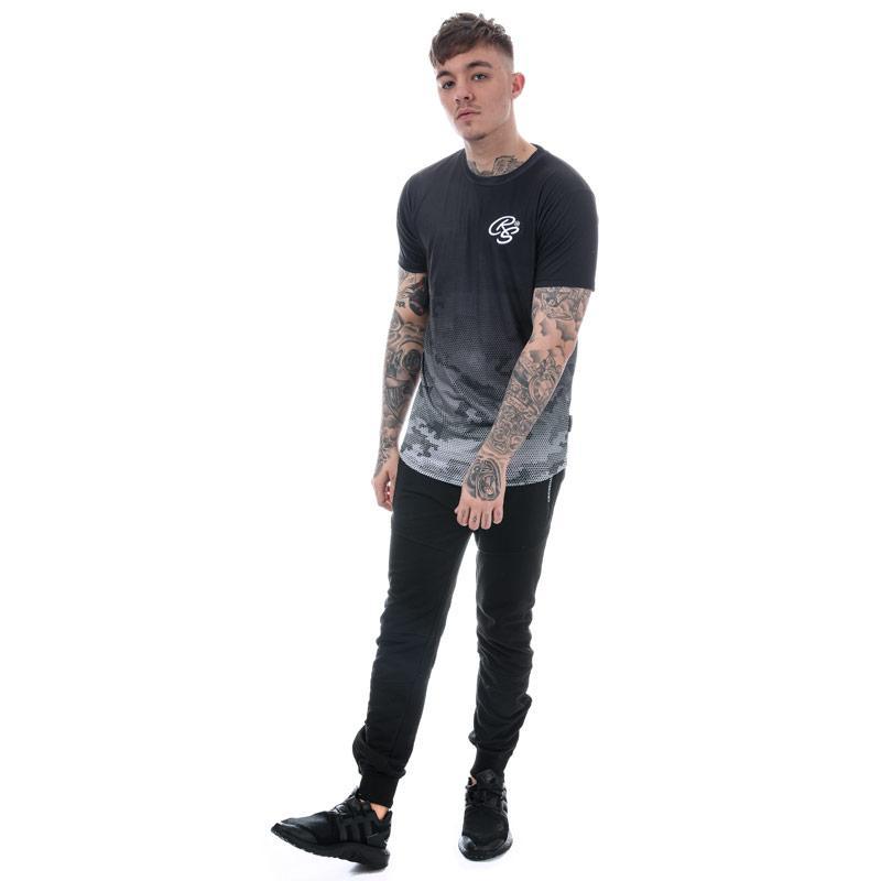 Tričko Crosshatch Black Label Mens Danehurst Sub T-Shirt olive