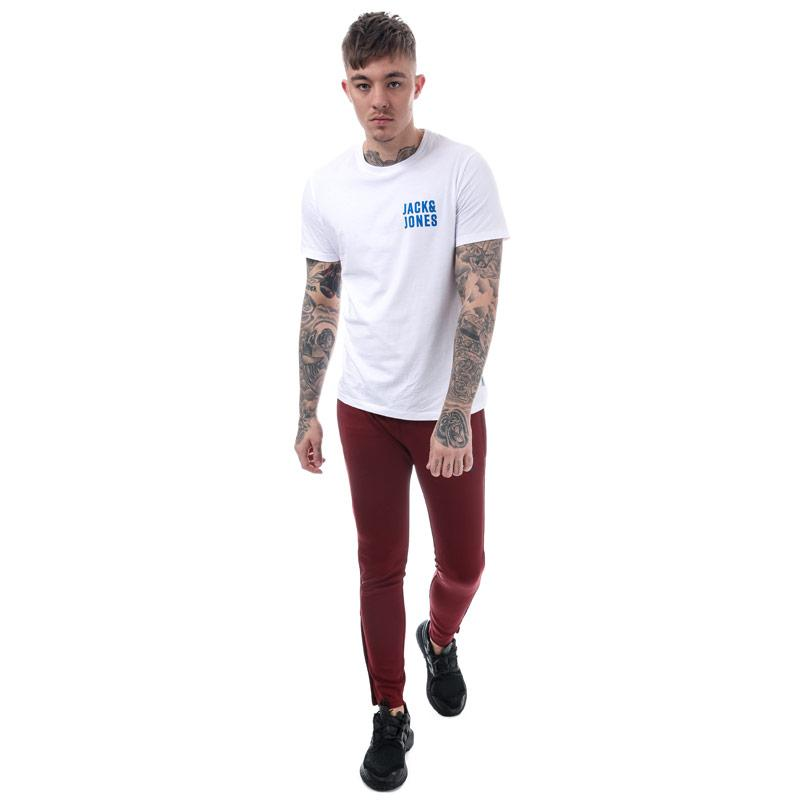 Tepláky Gym King Mens Poly Tracksuit Bottoms Burgundy