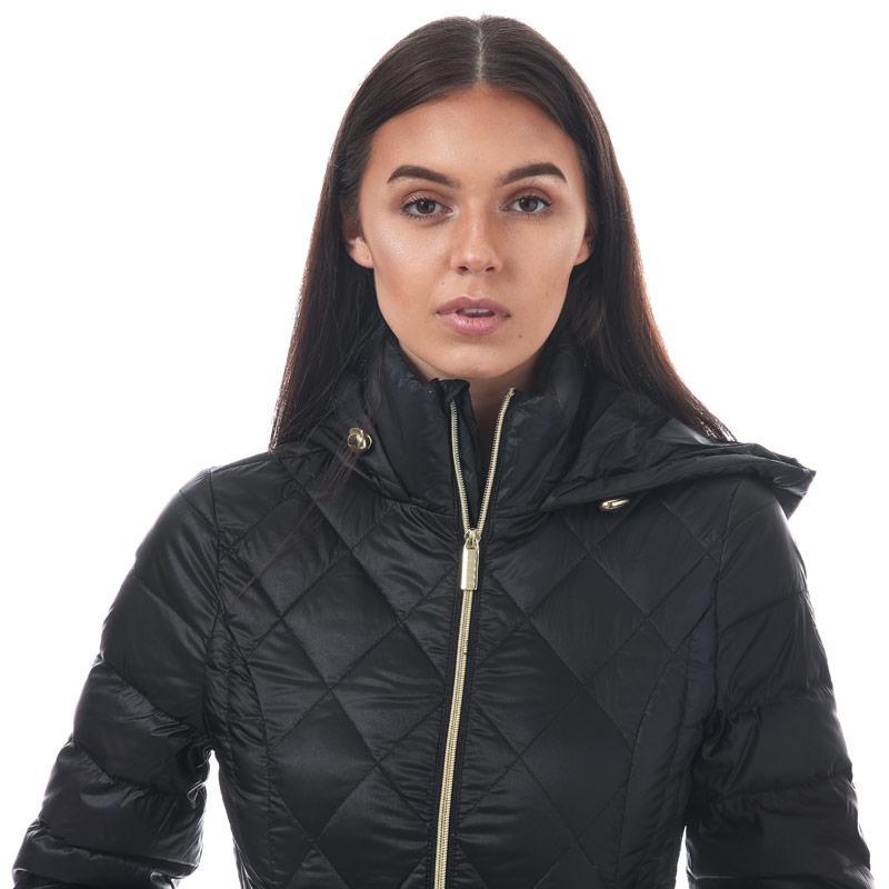 Elle Womens Janine Coat Black