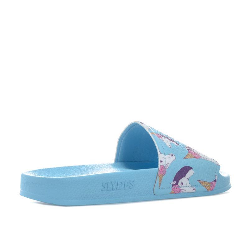 Boty Slydes Womens Mendes Slider Sandals Blue