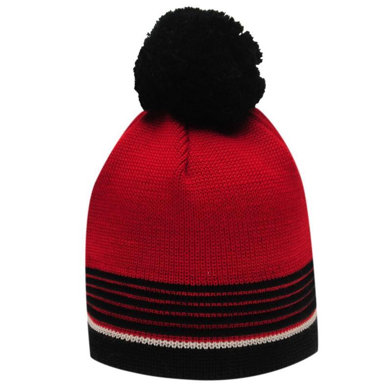 Eisbär Eisbar Harper Beanie Hat Mens Black/Red