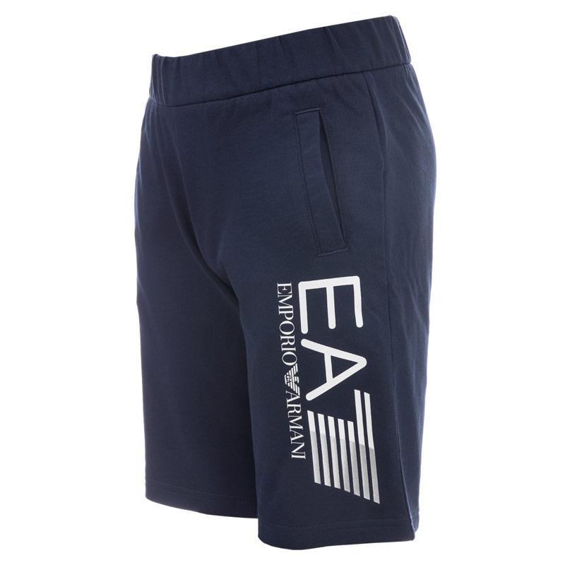 Kraťasy Emporio Armani EA7 Junior Boys Train Core ID Shorts Navy