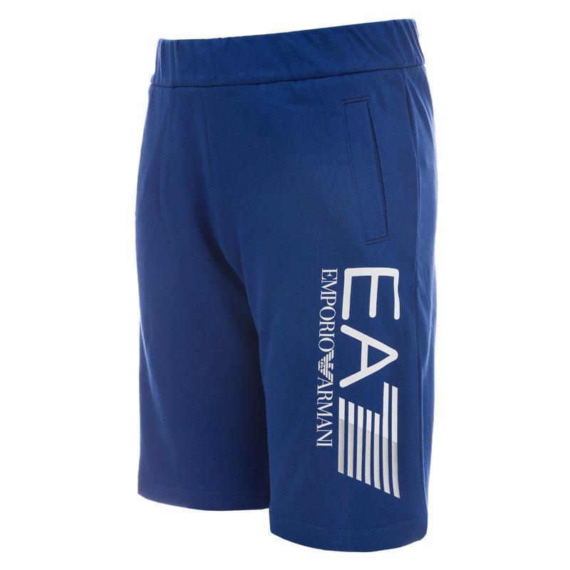 Kraťasy Emporio Armani EA7 Junior Boys Train Core ID Shorts Blue
