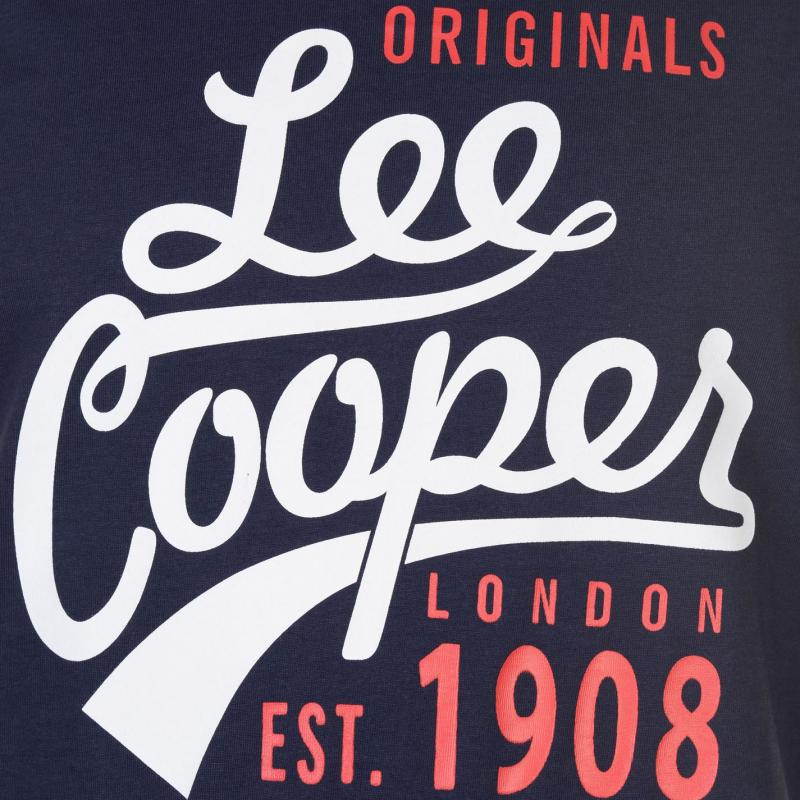 Tílko Lee Cooper Large Logo Vest Mens Navy