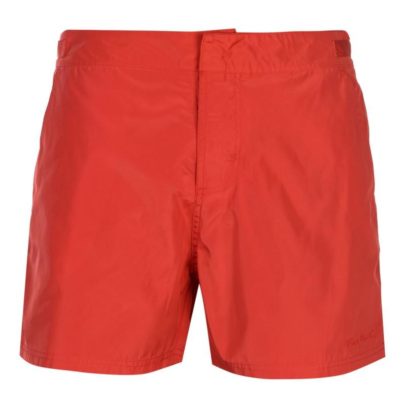 Plavky Pierre Cardin Mid Length Swim Shorts Mens Red